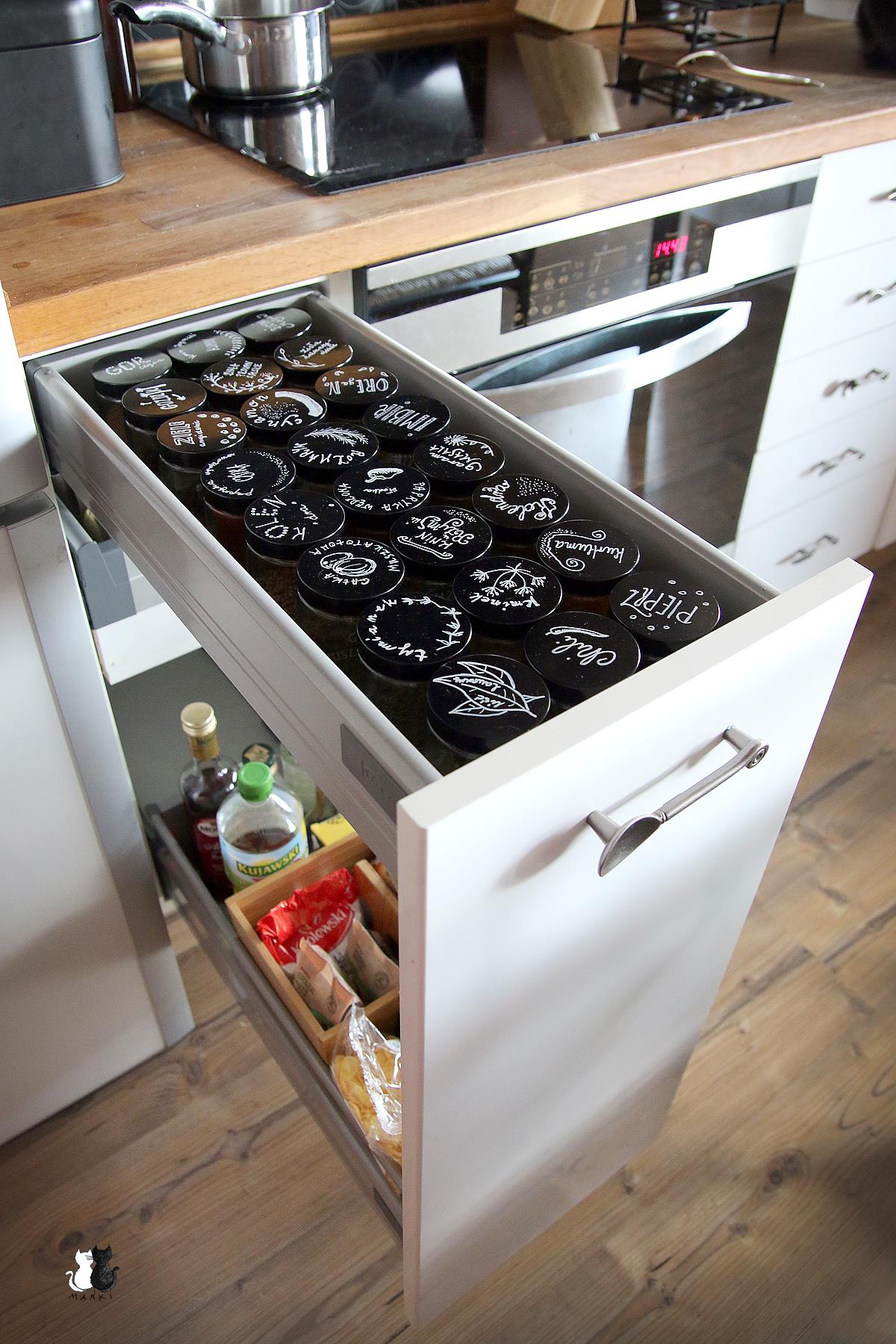 IKEA i pojemniki na przyprawy DIY